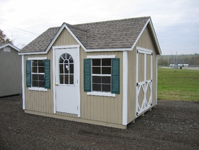 Wood Cottage Classic Shed Kit by Little Cottage Co